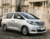 Toyota Alphard 2.4 AT 4WD 2012