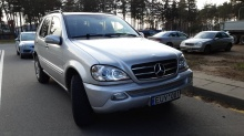 Mercedes-Benz M-Класс ML 400 CDI 5G-Tronic 2002