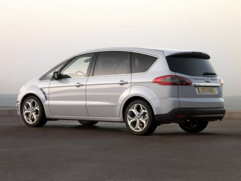 расход ford s-max, 2007